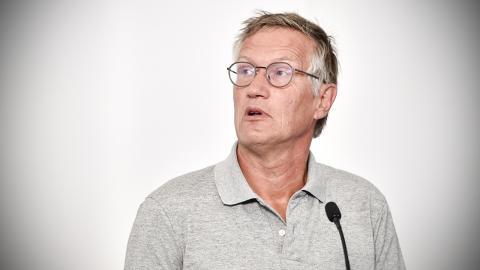 Anders Tegnell, statsepidemiolog. Bild: Erik Simander/TT