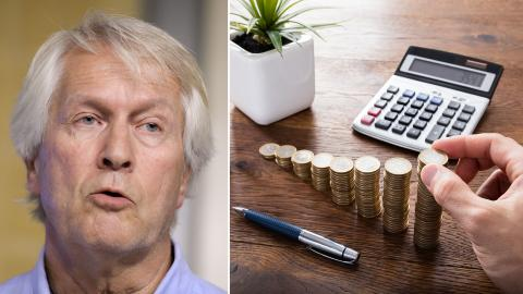 """""""Jämlikhet är inte något slags lyx som rika nationer kan kosta på sig"""", säger Per Molander, Jämlikhetskommissionen. Bid: Janerik Henriksson/TT"""
