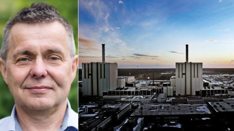"""Kärnkraften var alltså inte så """"planerbar"""" som många hade räknat med, skriver debattören i ett svar till debatten """"Är kärnkraften nödvändig för en fossilfri, svensk elproduktion?"""". Bild: Tomas Oneborg/SvD/TT"""