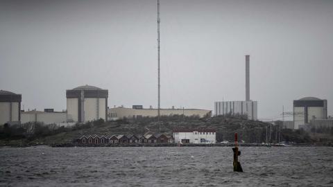 Ringhals kärnkraftverk utanför Varberg. Foto: Björn Larsson Rosvall /TT