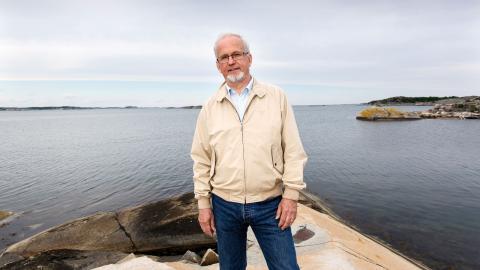 Målgruppen för Anders Omstedts bok är i första hand forskarvärlden och studenter, men kan läsas av alla som är intresserade av miljöfrågor.  Bild: Johan Wingborg/Göteborgs universitet