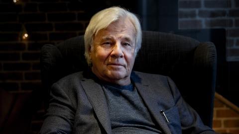 """Jan Guillou anser att risken finns för en rent fascistisk utveckling i Sverige. """"Jimmie Åkesson har till och med sagt hur han ska komma till makten, det ska ske på samma sätt som Hitler kom fram, genom en koalition med högern"""" Bild: Berit Roald/NTB/TT"""