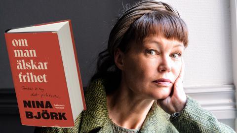 Författaren och debattören Nina Björk. Bild: Stina Nylén