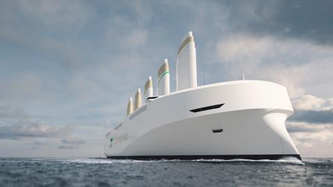 Segelfartyget Oceanbird. Bild: Wallenius marine