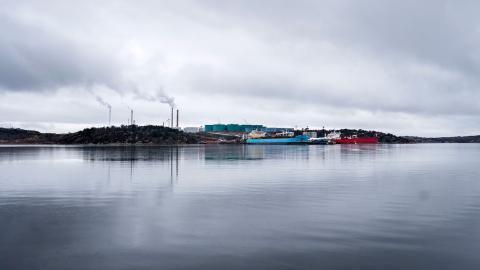 Preems raffinaderi i Lysekil. Bild: Björn Larsson Rosvall/TT