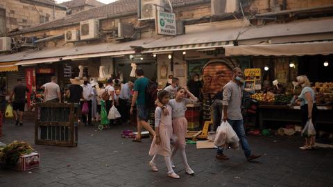 Israel förbereder en andra nedstängning av landet.  Bild: Maya Alleruzzo/AP