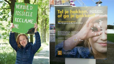 Femke Sleegers / I Haag anordnar Shell varje år en teknik- och vetenskapsfestival för barn och ungdomar.  Bild: Robert Elsing / Reclame Fossielvrij