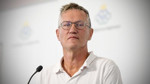 Anders Tegnell, statsepidemiolog. Bild: Janerik Henriksson/TT