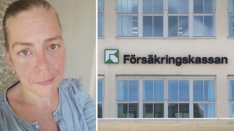 """""""En del klarar av att arbeta men är inte i form, medan andra inte tar sig upp ur sängen"""" säger Åsa Kristoffersson Hedlund. Bild: Privat, Jessica Gow/TT"""