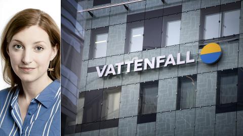 Psykologen Frida Hylander är kritisk mot Vattenfalls rapport om mediernas klimatbevakning. Bild: Klimatpsykologerna / Jessica Gow/TT