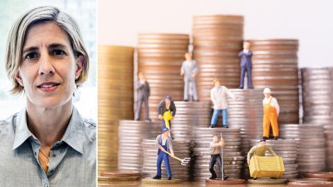 LO-ekonomen Åsa-Pia Järliden Bergström. Bild: Magnus Hjalmarson Neideman/SvD/TT / Shutterstock