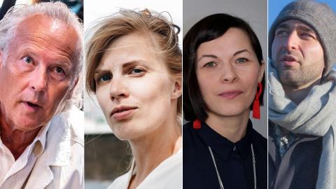 Klas Östergren, Lydia Sandgren, Elin Anna Labba och Arash Sanari är några av de nominerade. Bild: TT/Johan Nilsson, Janerik Henriksson/TT, Lisa Arfwidson/SvD/TT