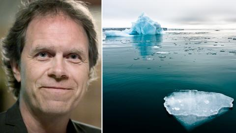 """""""Att framhålla och förklara klimatkrisen är inte ett partipolitiskt ställningstagande"""", skriver Pär Holmgren (MP). Bild: Janerik Henriksson/TT, Shutterstock"""