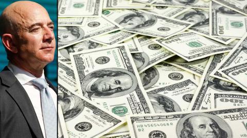 Världens rikaste man Jeff Bezos. Foto: TT/AP/Lefteris Pitarakis, Shutterstock