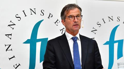 Finansinspektionens generaldirektör Erik Thedéen. Bild: Jonas Ekströmer/TT