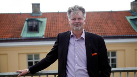 """""""Jag tycker att vi har ett mycket bra samarbete inom Alliansen och vi hittar också olika politiska majoriteter iviktiga frågor för göteborgarna,"""" säger kommunstyrelsens ordförande Axel Josefson (M).  Bild: Christian Egefur"""