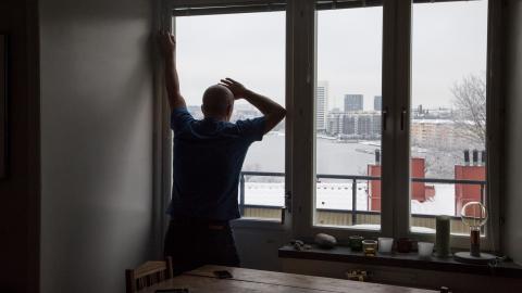 Det urbana samhället är ett samhälle av ensamhet i boendet. I våra storstäder är hälften eller mer av alla hushåll enpersonshushåll. Bild: Martina Holmberg / TT
