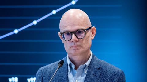 Thomas Wahlberg, smittskyddsläkare i Västra Götalandsregionen. Bild: Björn Larsson Rosvall/TT