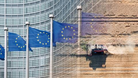 EU-parlamentet röstade nyligen för att kanalisera hundratals miljarder till klimat- och miljöförstörande jordbruk, och i en omröstning förra veckan bjöds fossilgasindustrin in att söka medel ur coronafonden.  Bild: Shutterstock, Julian Stratenschulte/AP/TT