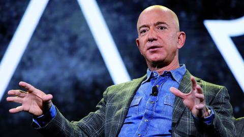 Jeff Bezos, Amazons grundare och vd. Bild: John Locher/AP