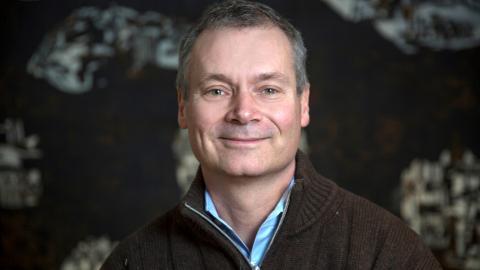 Vid årskiftet tar naturgeografen  Johan Kuylenstierna, 55, över som ordförande för Klimatpolitiska rådet. Bild: Elisabeth Ohlson Wallin