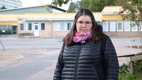 Linnéa Lindquist är rektor för årskurserna 0–3 på Hammarkullsskolan i Göteborg.  Bild: Stina Berglund