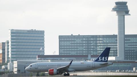 Statliga Swedavia driver bland annat Arlanda. Bild: FREDRIK SANDBERG/TT