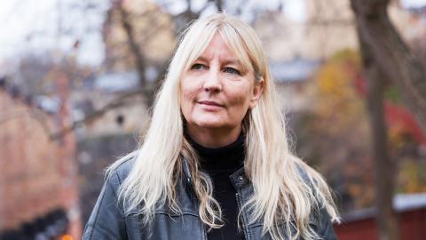 Författaren Karin Smirnoff blir ny krönikör för Dagens ETC.  Bild: Alexandra Bengtsson/SvD/TT