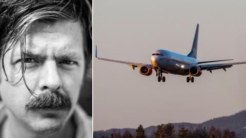 """Medan flygandet inte ensamt utgör """"klimatkrisens problematik"""" är det en viktigdel, skriver Anders Hellberg.  Bild: Håkon Mosvold Larsen/NTB/TT"""
