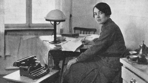 Författaren Karin Boye. Bild: IDUN/svenskt porträttarkiv