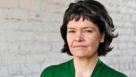 Kate Raworth, ekonomen bakom donutmodellen.  Bild: Roman Krznaric