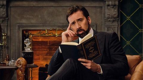 """Nicolas Cage berättar om svordomar i  """"History of swear words"""". Bild: Netflix"""
