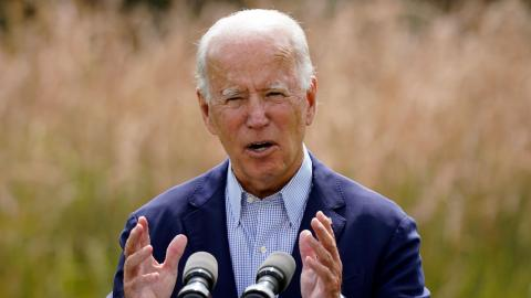 USA kommer att återanslutas till Parisavtalet samma dag som Biden tillträder som president. Bild: Patrick Semansky/AP/TT