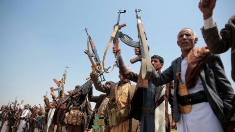 Konflikten i Jemen kan komma att förvärras av Tysklands beslut att tillåta vapenexport till landet. Bild: Hani Mohammed/AP/TT