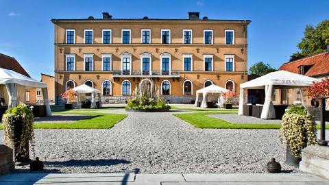 Här på Ulfsunda slott höll Norra Real konferens för sin personal. Bild: Press