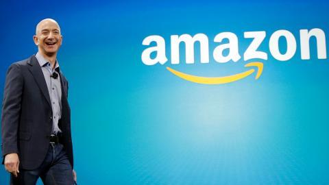 Jeff Bezos, Amazon. Bild: Ted S. Warren/AP/TT