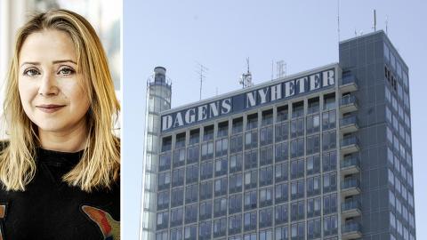 Anna Åberg, tillträdande redaktionschef på DN. Bild: Eva Tedesjö/DN / Bertil Ericson/TT