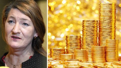 Susanna Gideonsson, LO:s ordförande. Bild: Fredrik Sandberg/TT / Shutterstock