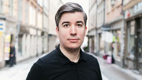 """""""Det finns gott om människor inom förbunden som inte platsar i SD:s  beskrivning av svenskheten"""", säger Niclas Nilsson. Bild: David Lagerlöf/Expo"""