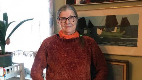 """""""Till stor del har jag byggt mitt aktiva liv på två H. Hästar och hård musik"""", säger Doris Jonsson från Umeå.  Bild: Privat"""