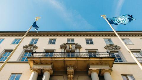 Handelshögskolan i Stockholm hamnade längst ner på Klimatstudenternas rankning för 2020.  Bild: Juliana Wiklund