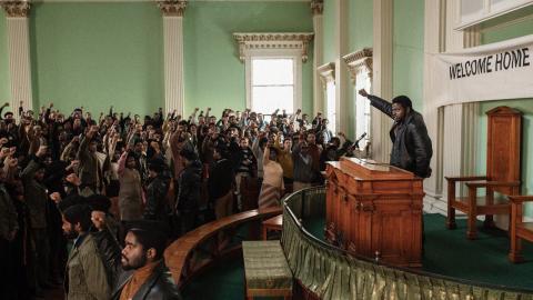 Dagens ETC:s recensent gläds över en film om Svarta pantrarna som inte har något med superhjältar att göra.  Bild: Glen Wilson/AP