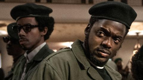 "Daniel  Kaluuya i ""Judas and the black Messiah. Bild: Glen Wilson/AP"