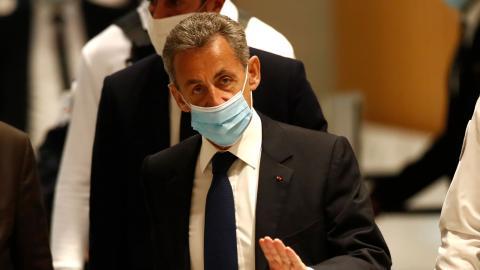 I måndags dömdes Frankrikes expresident Nicolas Sarkozy till tre års fängelse för korruption.  Bild: Michel Euler/AP/TT