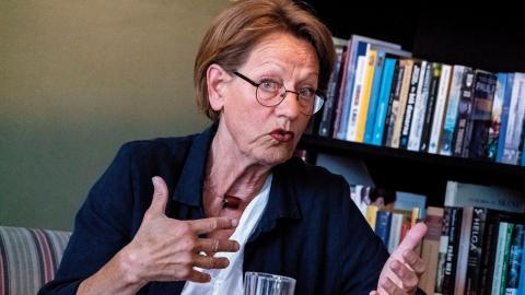 Gudrun Schyman föreslår att Fi 2022 går till val under beteckningen Klimatinitiativet och dessutom öppnar sina listor för dem i civilsamhället som arbetar med och engagerar sig  i klimatfrågor.  Bild: Johan Nilsson/TT