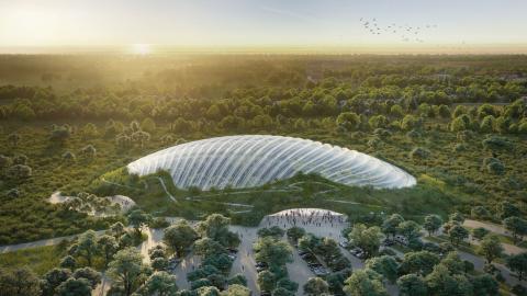 Nästa år är det tänkt att Tropicalia ska stå klart.  Bild: Coldefy & Associates