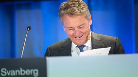 AB Volvos ordförande Carl-Henric Svanberg. Thomas Johansson/TT