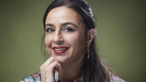 """Ulrika Nandra, aktuell med romanen """"Ett färgat liv"""". Bild: Anna-Lena Lundquist"""