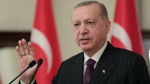 Turkiet har under president Erdogan snabbt rört sig i en antidemokratisk riktning, skriver MP:s Alice Bah Kuhnke i en debattartikel. Bild: AP