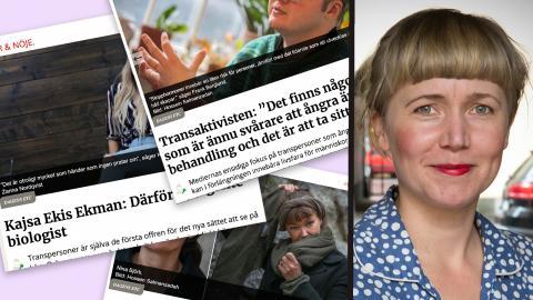 """""""Något som försvårat en saklig diskussion om den nya synen på kön är det oförsonliga tonläge som präglar debatten"""", skriver Lina Hjorth Warlenius. Kalle Larsson"""